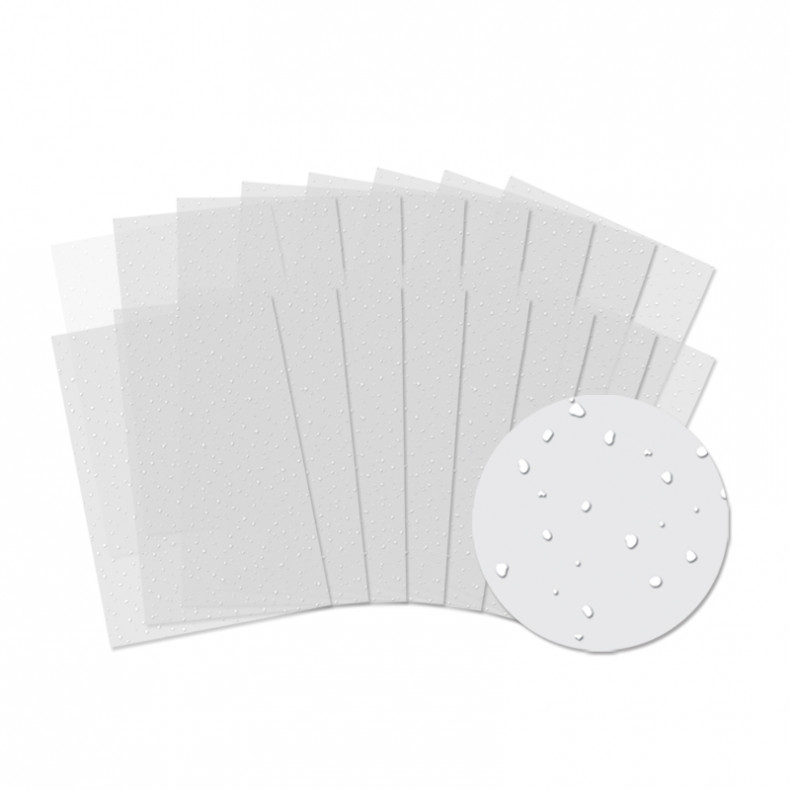 HD Snowfall Acetate 16-sheet bumper pack