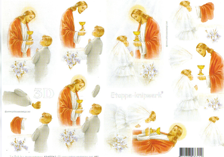 Le Suh Confirmation 3D Step by Step Decoupage 261