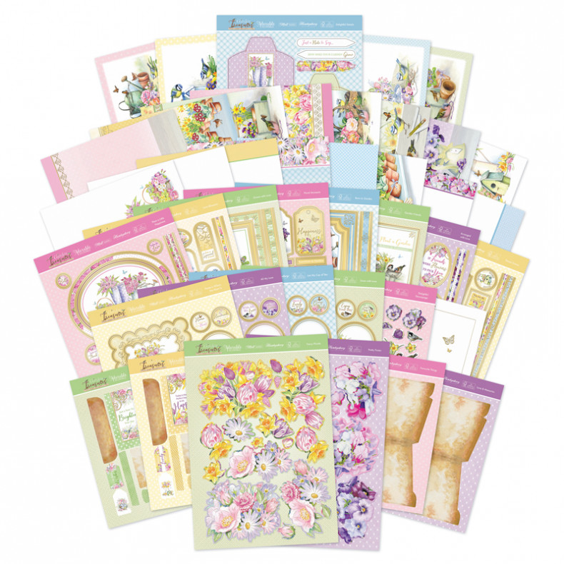 HD Garden Treasures Luxury Card Collection