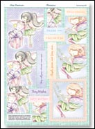 Fairy Daydreams Enchanting Gift Pyramount 3D DIE DUT Decoupage