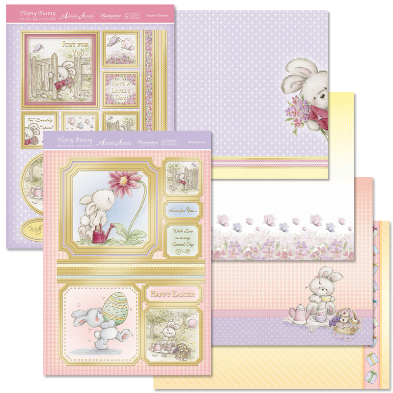 Hd Flopsy Bunny Deluxe Card Kit Jacques Crafts