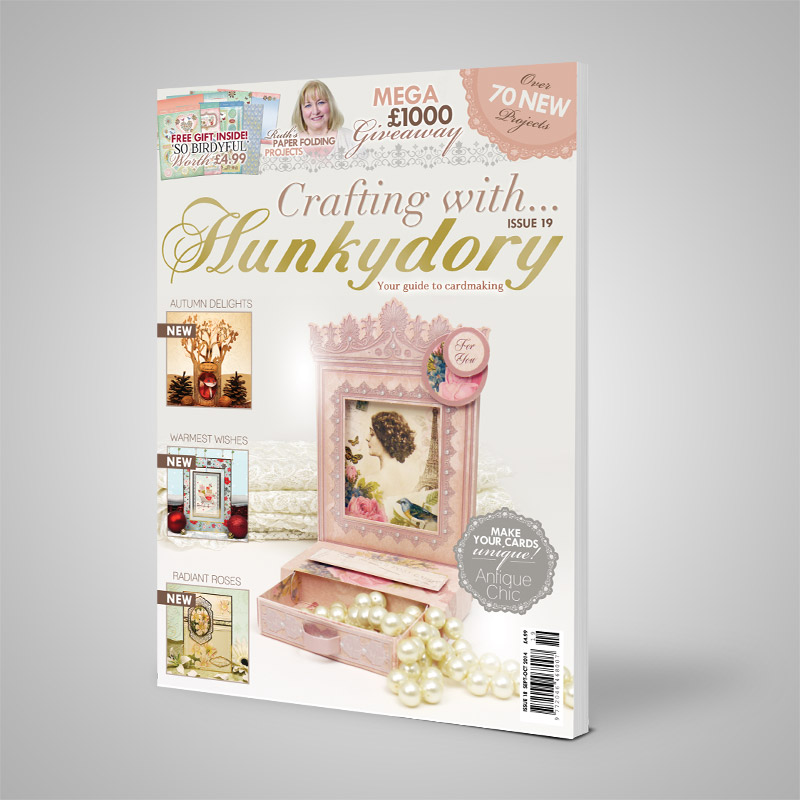 DISCONTINUED Crafting with Hunkydory - Issue 20 & FREE GIFT