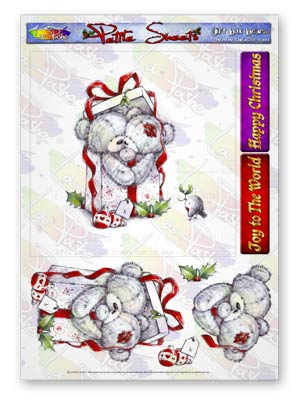 Pickles And Podge At Christmas A5 Petite Sheets Gift Box Bears