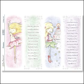 Fairy Daydreams Birthday Wish Poetry Panels