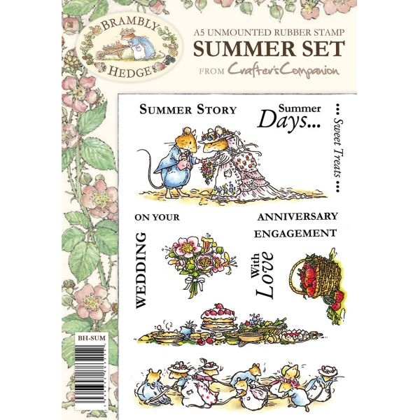 Brambly Hedge A5 Stamp Set - Summer