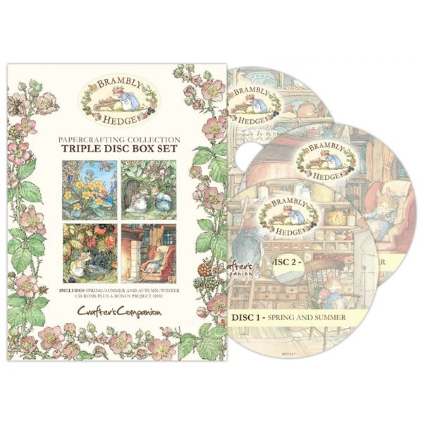 Brambly Hedge Triple CD-ROM Collection
