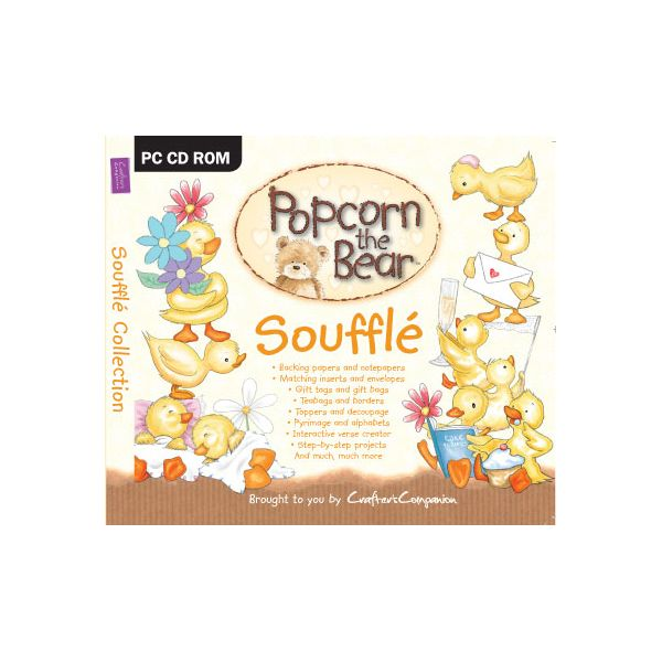 Popcorn the Bear Soufflé CD Collection