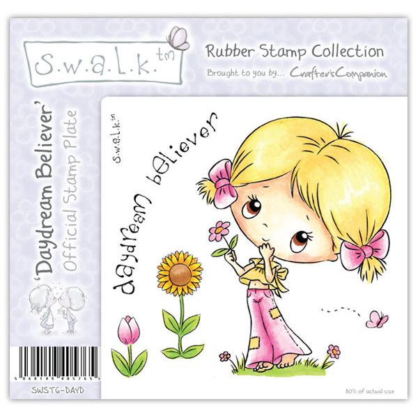 S.W.A.L.K. - Unmounted Rubber Stamp - Daydream Believer