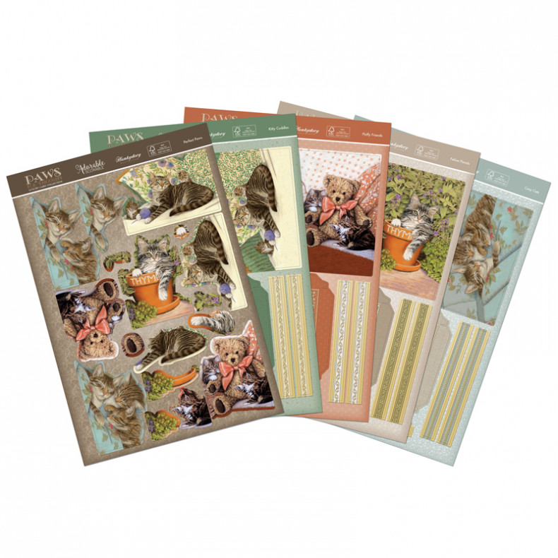 HD Paws for Thought Delightful Decoupage Book Cards
