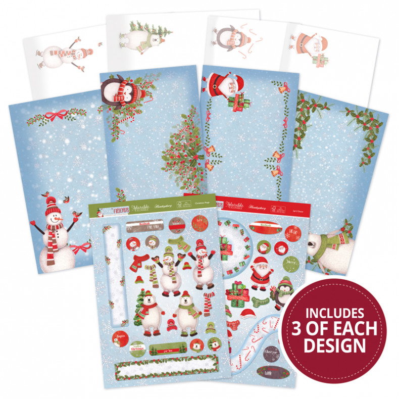 HD Frosty Friends Festive Slider Concept Card Collection