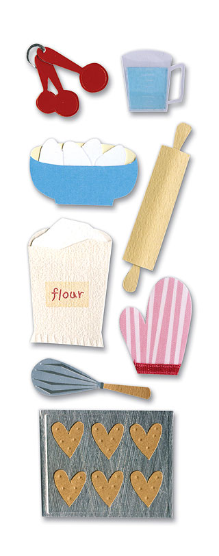 A Touch of Jolee ~ Baking - RRP £1.95