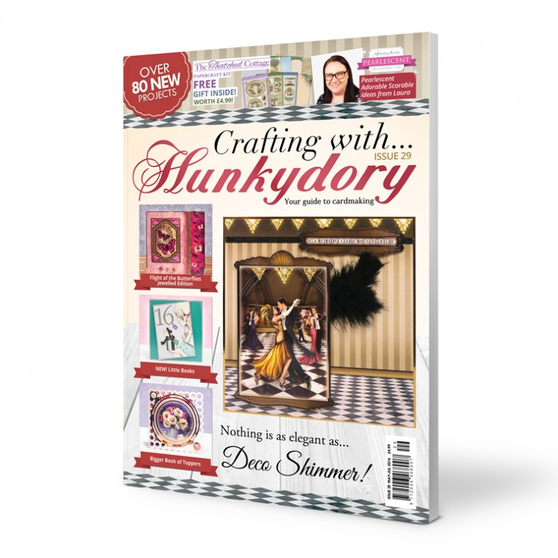 DISCONTINUED Crafting with Hunkydory - Issue 29 plus FREE gift