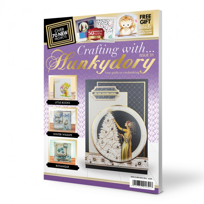 DISCONTINUED Crafting with Hunkydory - Issue 31 plus FREE gift