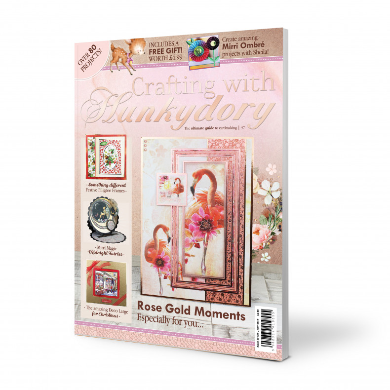 DISCONTINUED Crafting with Hunkydory Project Magazine - Issue 37