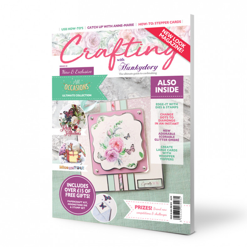 HD Crafting with Hunkydory - Issue 45