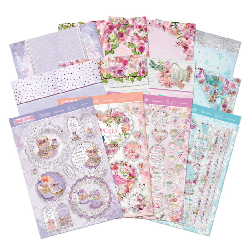 HD Simply Sequins Deluxe Card Collection
