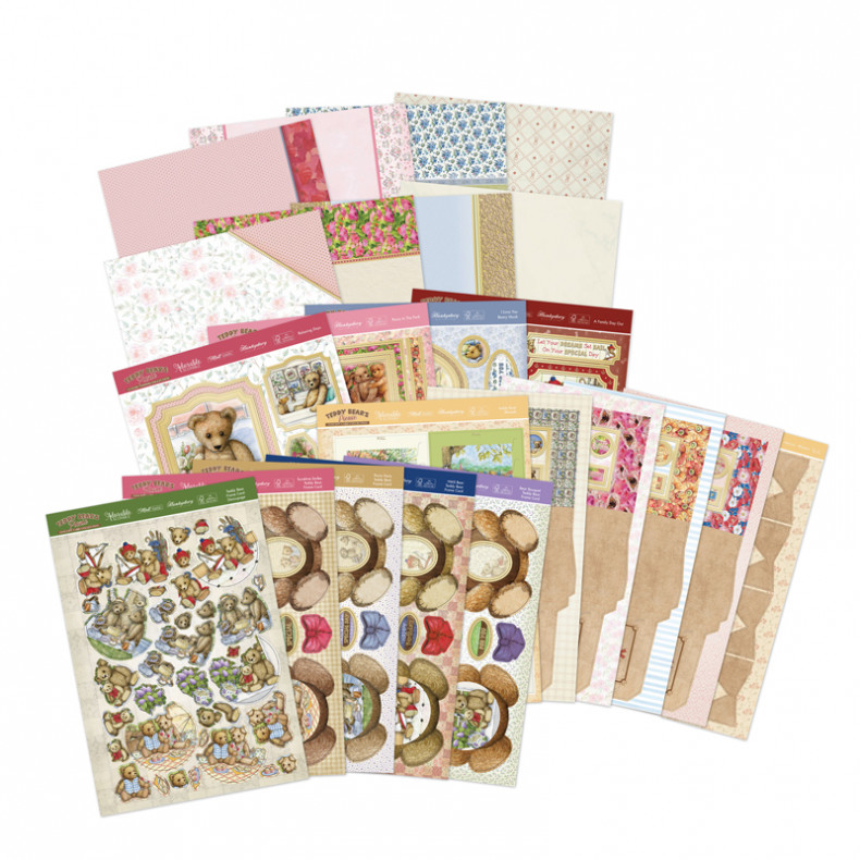 HD Teddy Bear\'s Picnic Luxury Card Collection