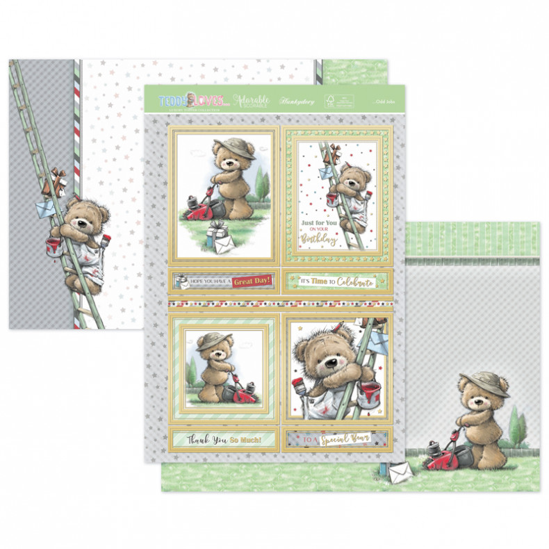 Teddy Loves… Odd Jobs Luxury Topper Set