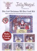 Jolly Nation CHRISTMAS DIE CUT Box Cards Multi Pack