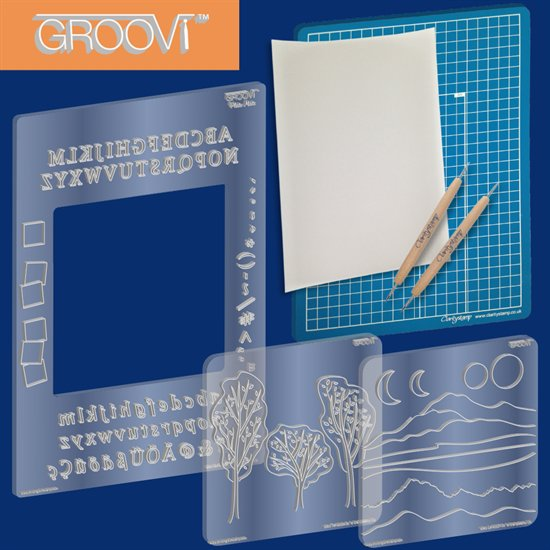 Groovi In the Groove Plate Starter Kit