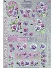 DISCONTINUED Dufex Freestyle Pansies Decoupage