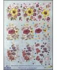 DISCONTINUED Dufex A4 DIE CUT 3D Decoupage ~ Mallow, Petunia 10