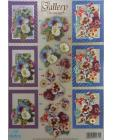 DISCONTINUED Dufex Gallery DIE CUT Morning Glory & Pansies