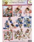 179 Flower Fairy 3D DIE CUT SBS Decoupage