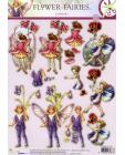 237 Flower Fairy 3D DIE CUT SBS Decoupage