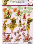 238 Flower Fairy 3D DIE CUT SBS Decoupage