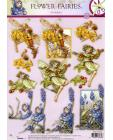 240 Flower Fairy 3D DIE CUT SBS Decoupage