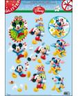 GLITTERED Mickey Mouse 61 DIE CUT 3D SBS Decoupage