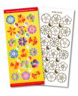 Flowers Match It Outline Stickers 6212