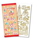 Toys Match It Outline Stickers 6351