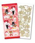 Wedding Match It Outline Stickers 6421