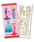 Dress Match It Outline Stickers 8503
