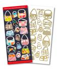 Handbags Match It Outline Stickers 8504