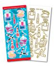 Make Up Match It Outline Stickers 8544