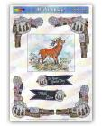 LP Highland Red Deer McDecoupage Scottish Range