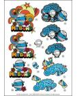 Mr Men DIE CUT Decoupage ~ Mr Bump