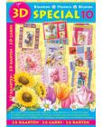 DISCONTINUED ~ No 10 Flower 3D Step by Step Decoupage Project Bo