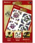 Match It Floral Book with Embossed Peel Offs