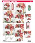 Twi Pyr Decoupage Flower Fairies sl05