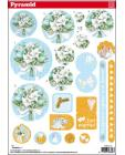 Pyramid DIE CUT Decoupage Marriage sl26