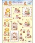 10 Tina Wenke Charming Illustrations 3D Step by Step Decoupage