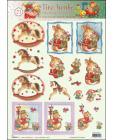21 Tina Wenke Charming Illustrations 3D Step by Step Decoupage