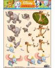 02 Disney Animals 3D Step by Step Decoupage