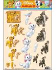 03 Disney Animals 3D Step by Step Decoupage