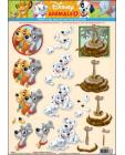 04 Disney Animals 3D Step by Step Decoupage