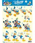 02 Donald & Friends 3D Step by Step Decoupage